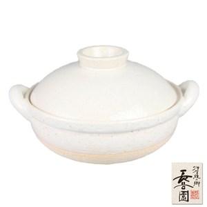 【日本長谷園伊賀燒】冷熱兩用多功能調理健康蒸煮鍋-白(3-5人)