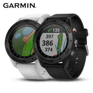 GARMIN Approach S60 中文GPS高爾夫球錶 矽膠錶帶爵士白