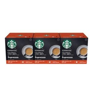 雀巢星巴克哥倫比亞義式濃縮咖啡膠囊 (3盒/36顆) 12398720
