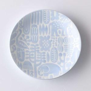 Natural69 波佐見燒 Utopia系列 甜點盤  15cm 水青藍