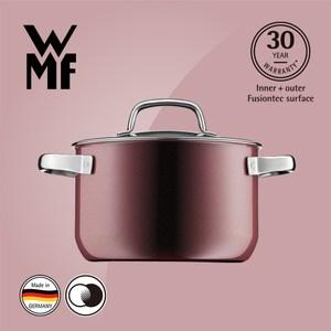 WMF Fusiontec 高身湯鍋 20cm 3.7L (赭紅色)