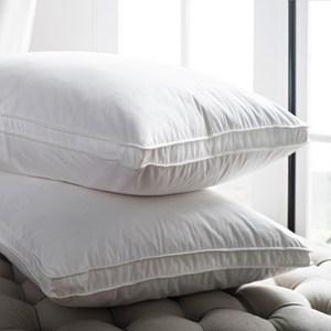 【BBL Premium】飯店款100%天然水鳥羽毛側立枕(一對)枕頭一對