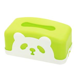 熊猫面紙盒 藍/綠 混款隨機