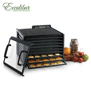 Excalibur伊卡莉柏全營養數位式低溫乾果機-九層/黑3948CDB