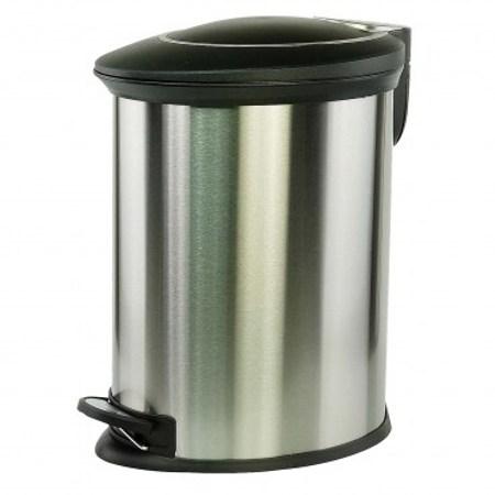 PRO特選橢圓緩降踏式垃圾桶12L