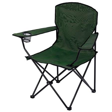 德瑞輕便型折疊椅-墨綠色
