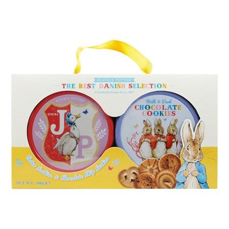 丹麥Peter Rabbit雙享餅乾禮盒300g
