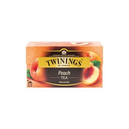 Twinings香甜蜜桃茶2g 25入