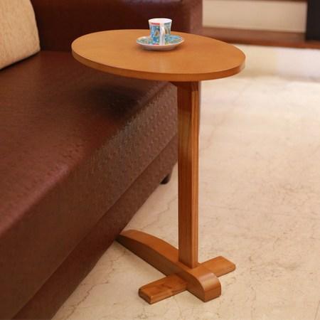 《C&B》幸福蛋便利木製小邊桌-蜂蜜色