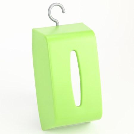 彩虹掛勾面紙盒 綠色款