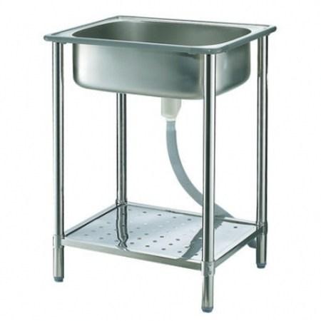豪華不鏽鋼加高加大型單水槽