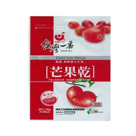 台灣一番愛文芒果乾130g