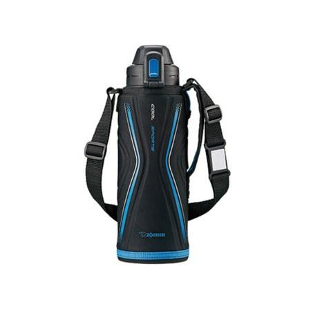 象印【SD-EB10-BB】1L超輕量保溫瓶-黑藍色BB