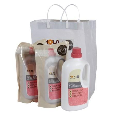 HOLA home麝香玫瑰酵素洗衣3件組(1瓶2補)