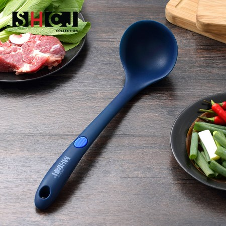 【SHCJ生活采家】湯鍋燉鍋耐熱矽膠湯勺(#54002)
