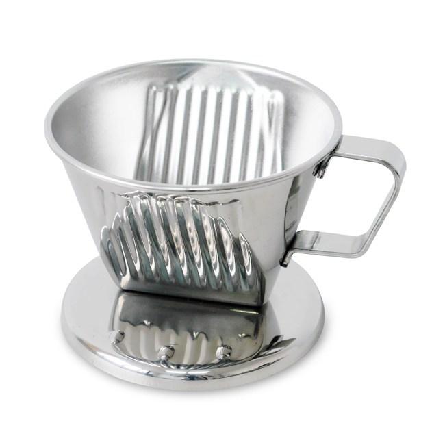 【日本寶馬】2~4杯滴漏式不鏽鋼咖啡濾器 TA-S-102-ST