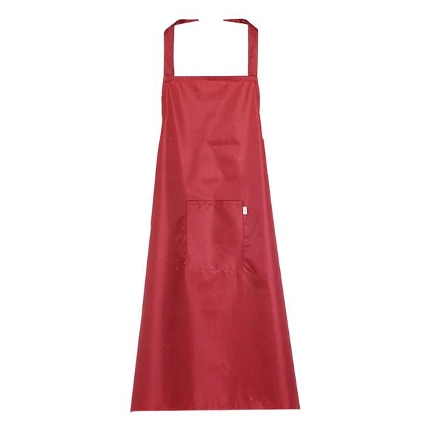 【三房兩廳】加長加大防水防油工作圍裙(工作圍裙) -紅色