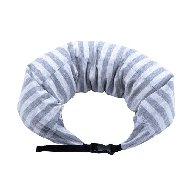 HOLA 可拆洗瑜珈枕 針織灰