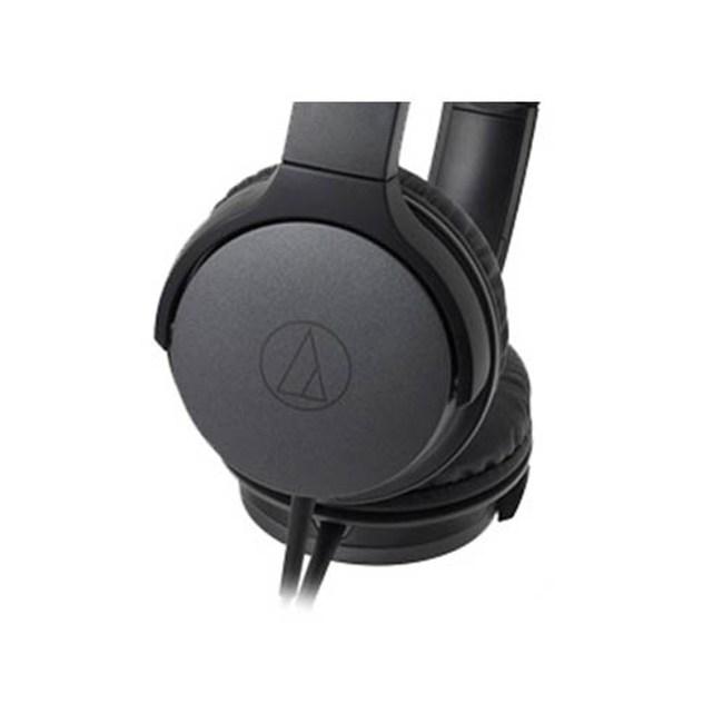 鐵三角 ATH-AR1 黑色 摺疊耳罩式耳機 輕量級