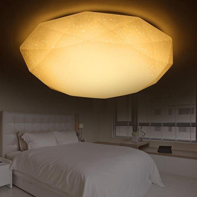 YPHOME 適用3坪45W LED星鑽黃光吸頂燈 2245HY830