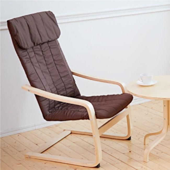 【班尼斯】Rich瑞奇馬汀 完美曲線搖搖休閒椅-深咖啡