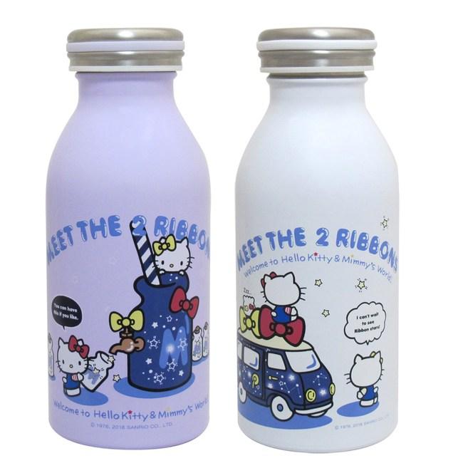 KITTY 350ml真空304不鏽鋼內膽保溫保冷瓶 KF5235紫色
