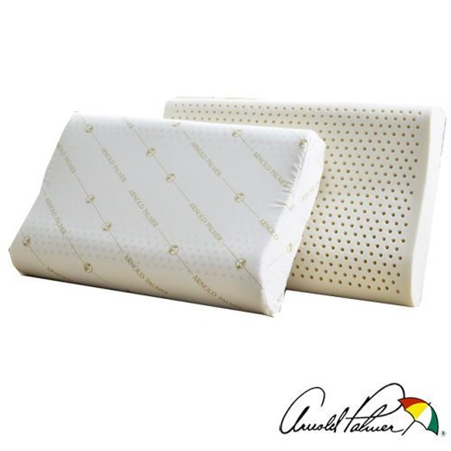 Arnold Palmer雨傘牌 人體工學乳膠枕1入