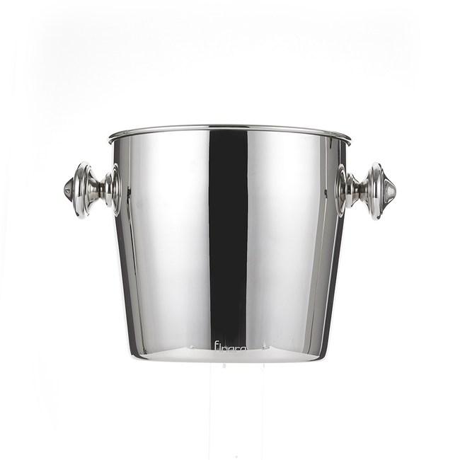 【Finara 費納拉】鏡面不鏽鋼香檳冰桶