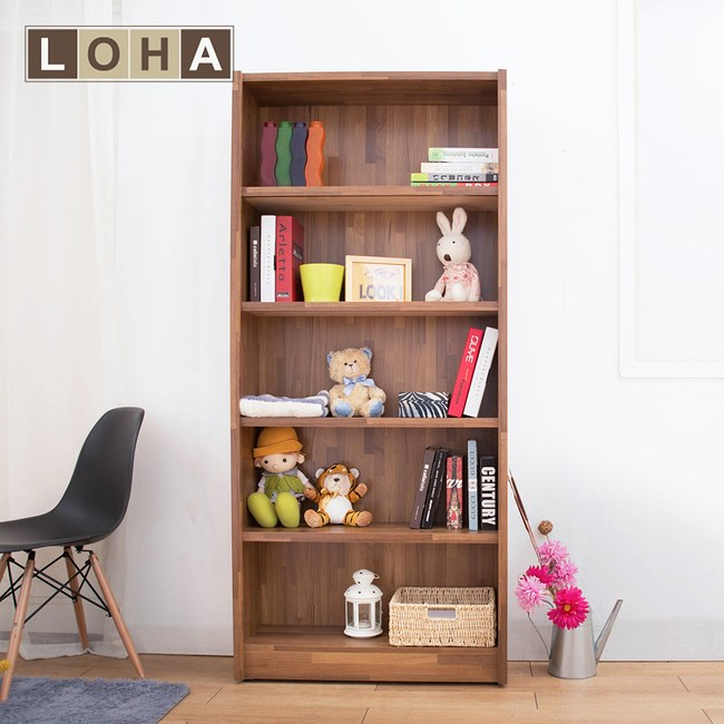 【LOHA】Original原創雙色工業2.7尺書架