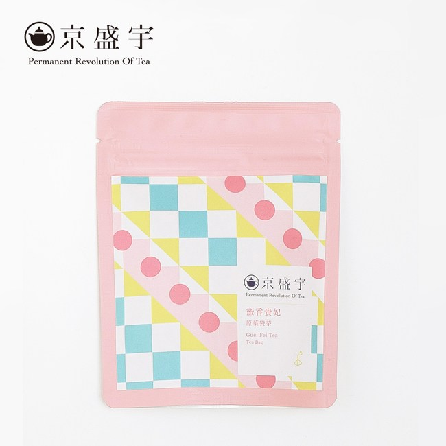 【京盛宇】原葉袋茶隨行包-蜜香貴妃(七入)