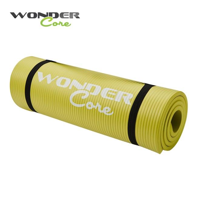 Wonder Core高密度瑜珈墊 檸檬綠/10mm