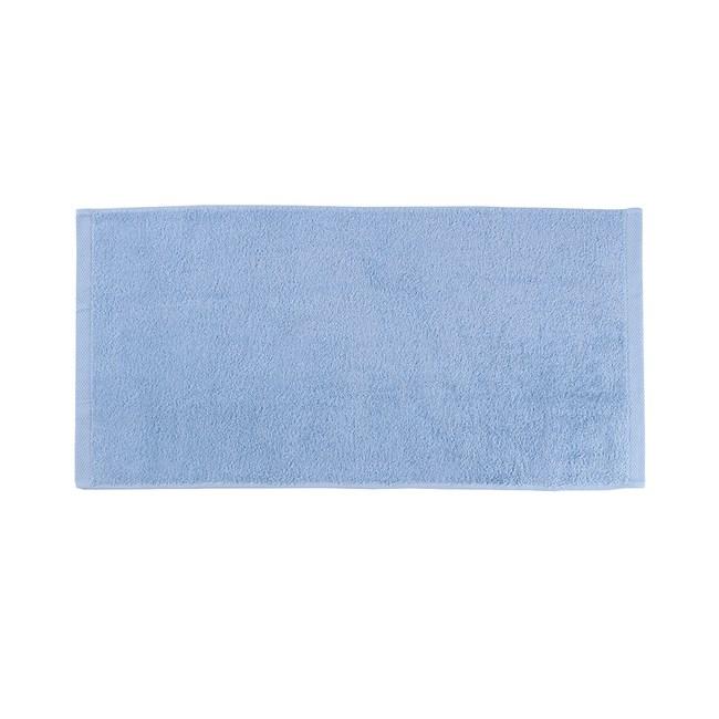 HOLA 土耳其純棉毛巾藍40x80cm