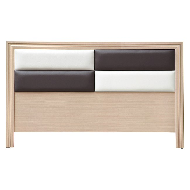 【YFS】歐格登5尺洗白床頭片-154x2x93cm