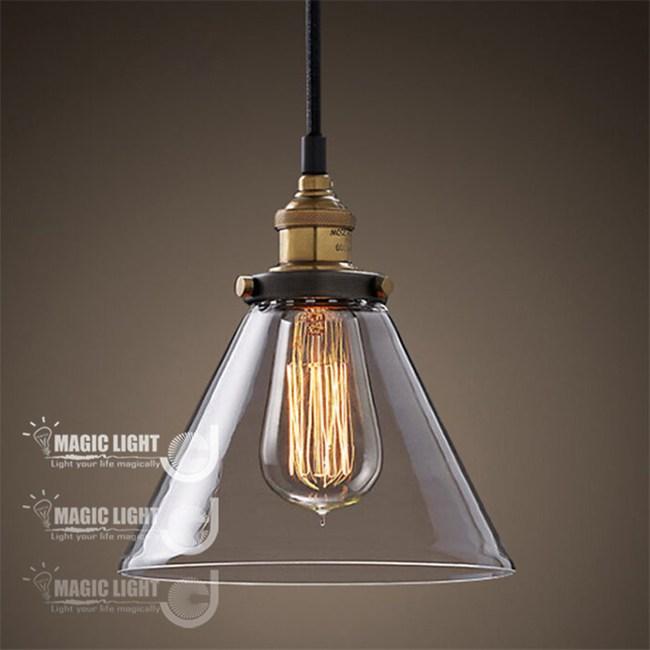 【光的魔法師】復古工業風 沙漏吊燈