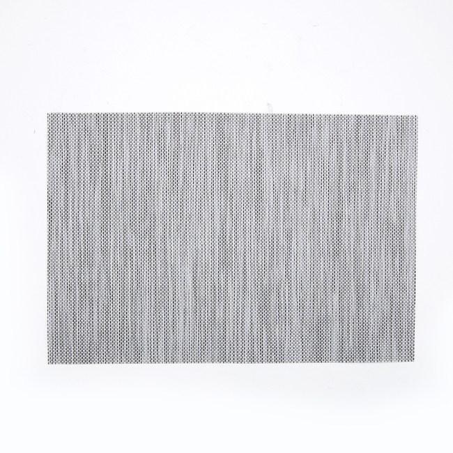HOLA 簡約PVC餐墊30x45cm 銀灰