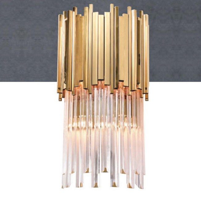 【大巨光】工業風水晶燈_壁燈-E14(LW-09-0114)