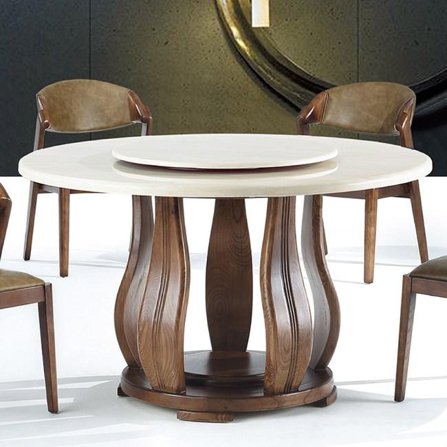 【YFS】希貝兒4尺半圓桌-130x130x76cm