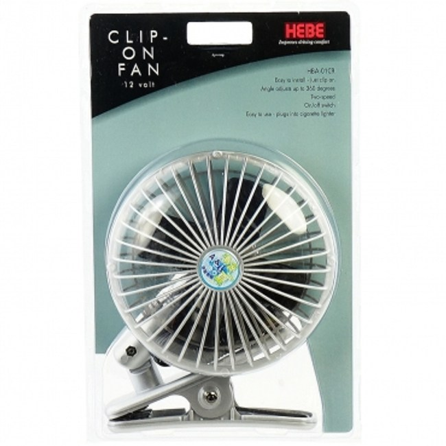 汽車用涼風扇12V4.5W(夾式)