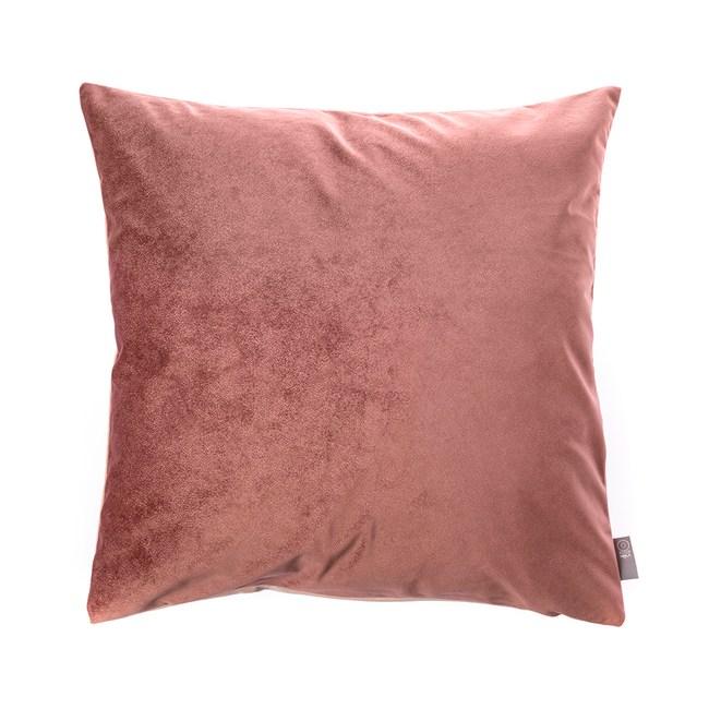 HOLA 素色星悅雙色抱枕50x50cm 玫粉色