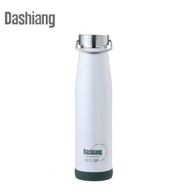 Dashiang 316不鏽鋼780ml真水品樂瓶-白色 DS-C34-780