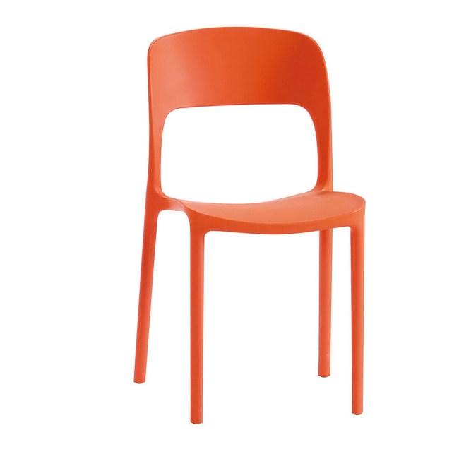 維隆卡休閒椅-橙色