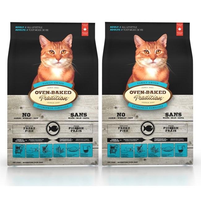 【Oven-Baked】烘焙客 成貓深海魚口味 5磅 X 2包