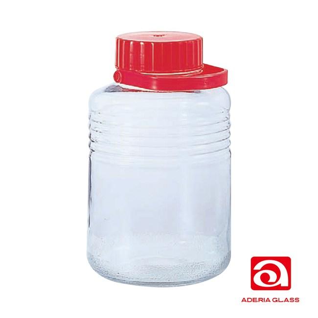 日本ADERIA 梅酒醃漬玻璃罐-8L