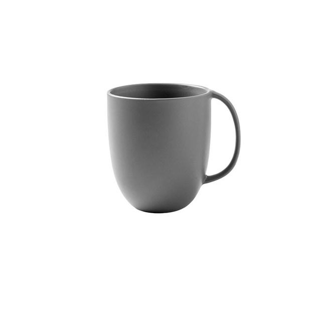 創意純色簡約咖啡杯馬克杯300ml灰