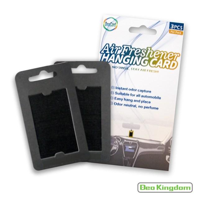 【Deo Kingdom】車用萬用消臭吊卡1包入組