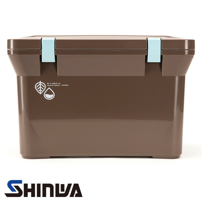 日本品牌 SHINWAA Nature 冰桶 15L 大地棕 型號056753