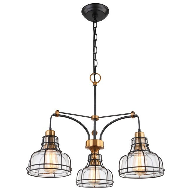 洛福特3燈吊燈