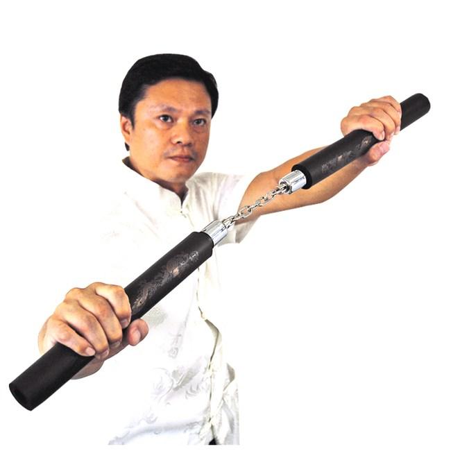 【輝武】武術用品-台灣製造高密度泡棉雙節棍-防身習武首選(2入)