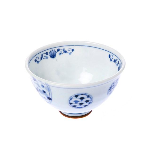 日本花伊萬里飯碗