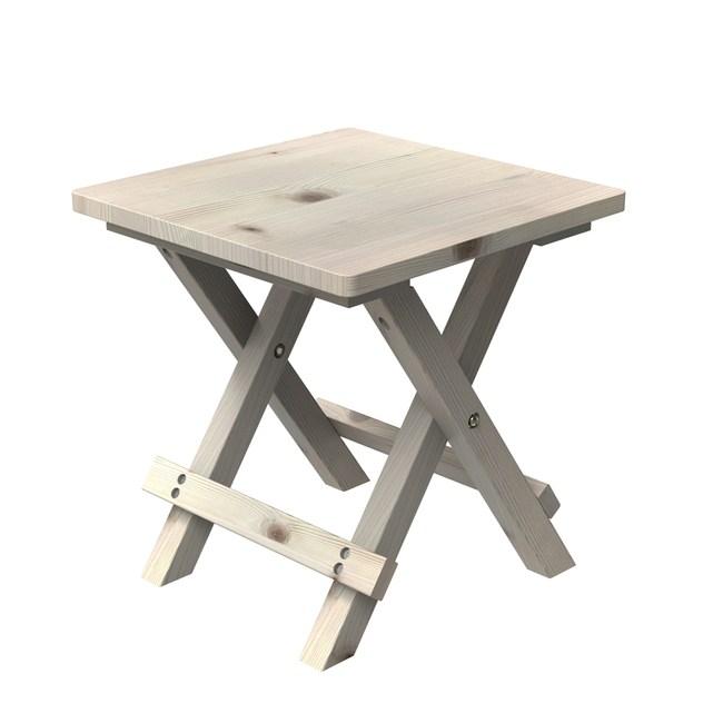 芬蘭白松木板凳